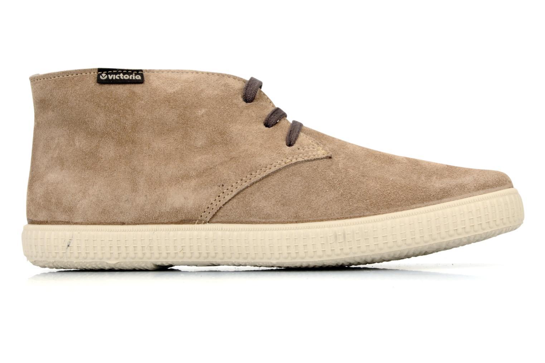 Chaussures à lacets Victoria Safari serraje M Beige vue derrière