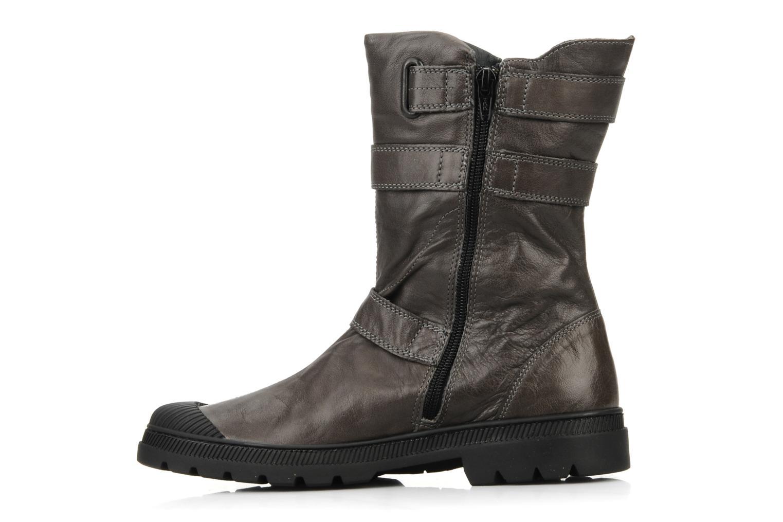 Bottines et boots Pataugas Aloe Gris vue face
