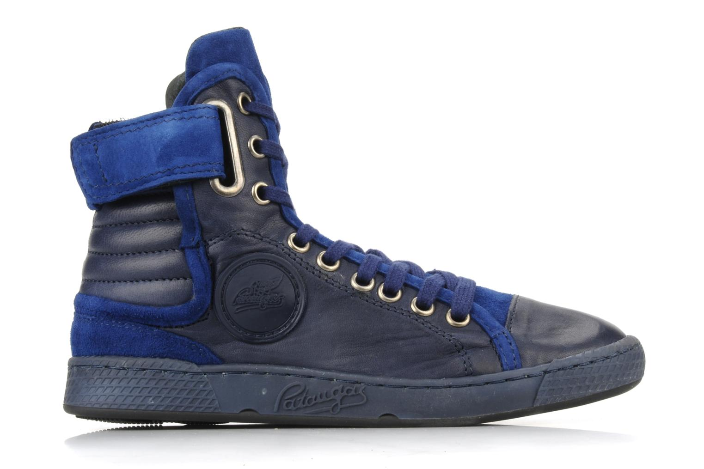 Sneaker Pataugas Justincvn e blau ansicht von hinten