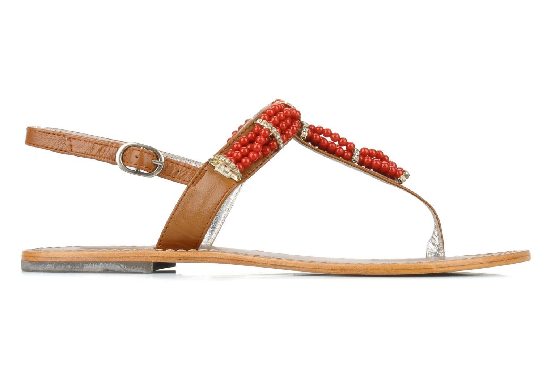 Sandales et nu-pieds Jonak Yoya Rouge vue derrière