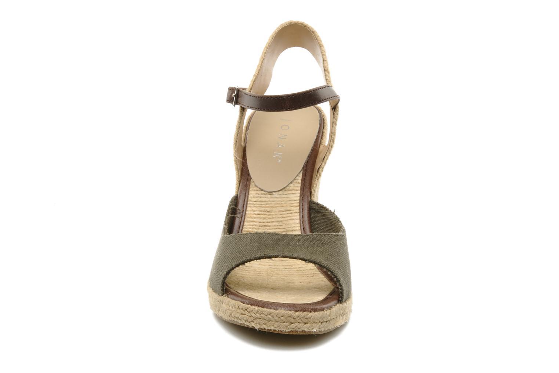 Sandals Jonak Shirelle Green model view