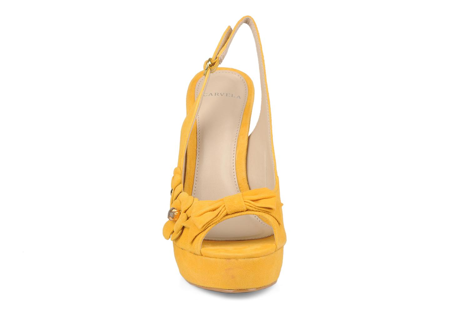 Sandals Carvela Gypsy Yellow model view