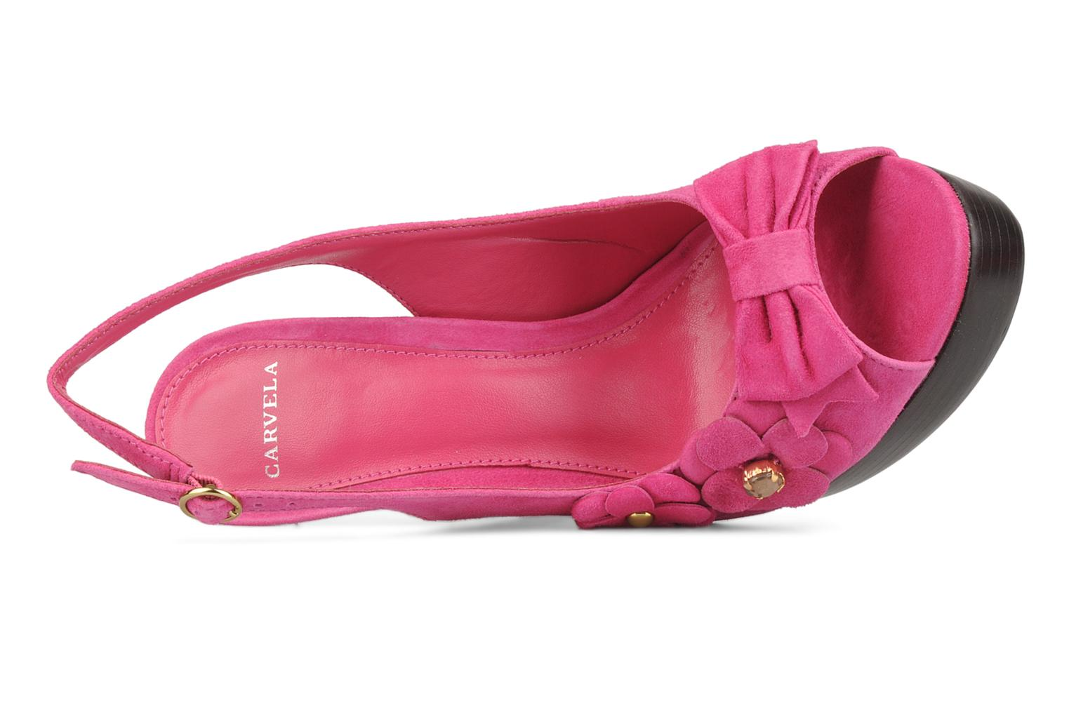 Sandals Carvela Gypsy Pink view from the left