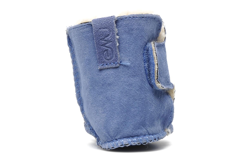 Bottines et boots Emu Australia Baby bootie Bleu vue droite
