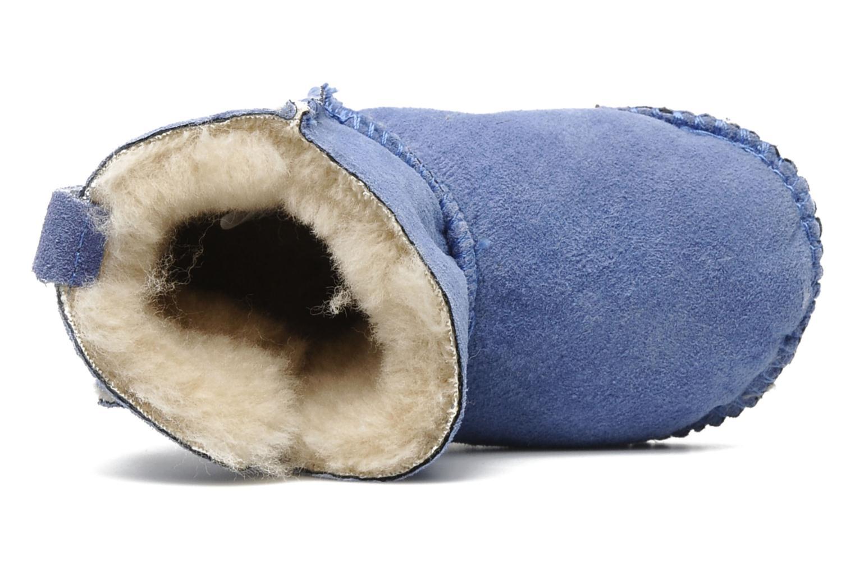 Stiefeletten & Boots Emu Australia Baby bootie blau ansicht von links
