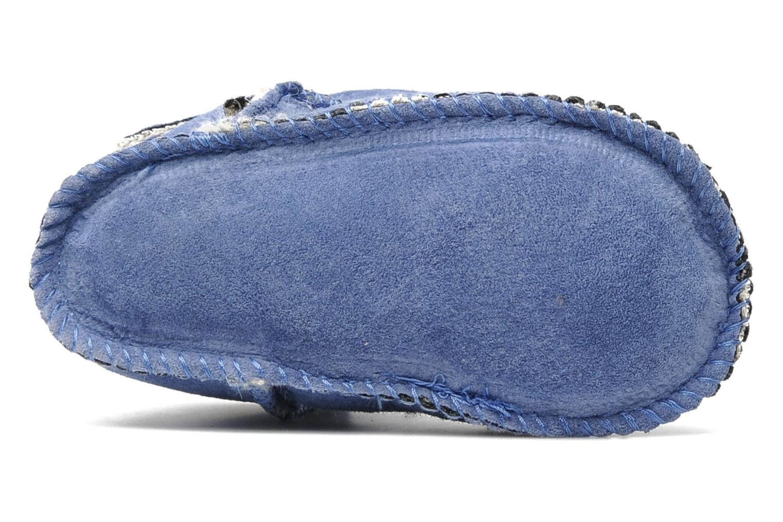 Bottines et boots Emu Australia Baby bootie Bleu vue haut