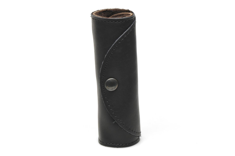 Schuhpflegeprodukte Famaco Polierhandschuh schwarz ansicht von oben