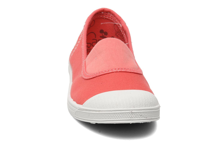 Sneaker Le temps des cerises Basic 01 rosa schuhe getragen