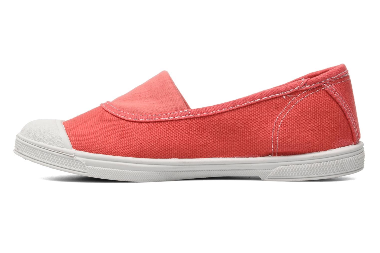 Sneaker Le temps des cerises Basic 01 rosa ansicht von vorne