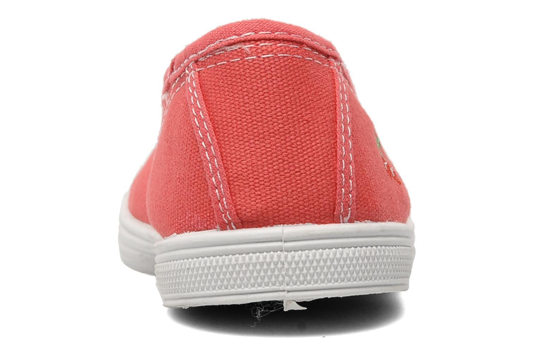 Sneaker Le temps des cerises Basic 01 rosa ansicht von rechts