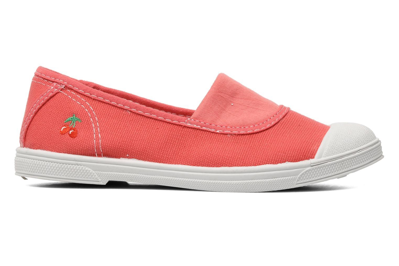 Sneaker Le temps des cerises Basic 01 rosa ansicht von hinten