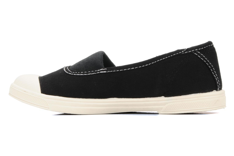 Sneaker Le temps des cerises Basic 01 schwarz ansicht von vorne