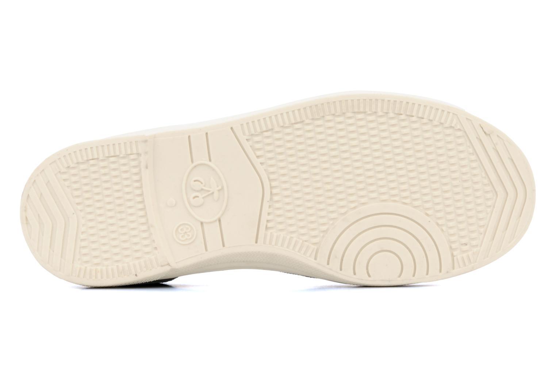 Sneakers Le temps des cerises Basic 01 Zwart boven
