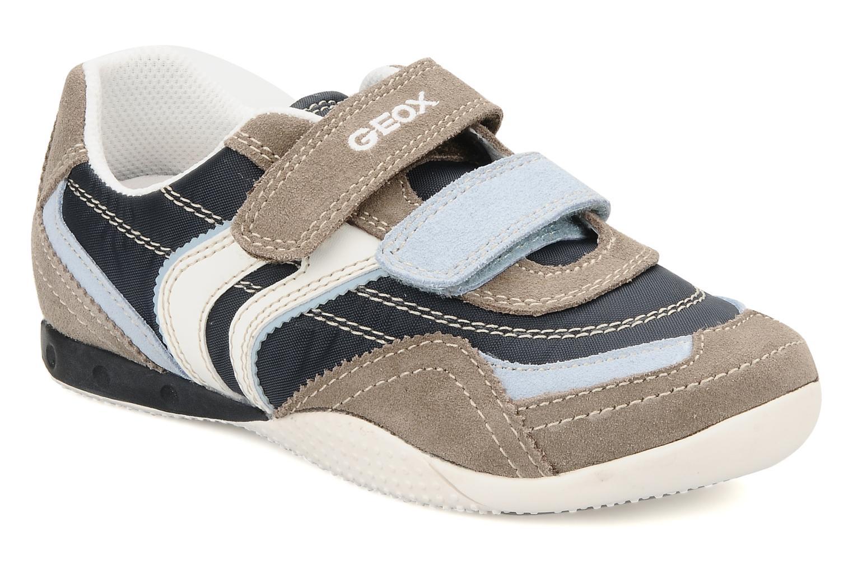 Sneakers Geox J charlie b Azzurro vedi dettaglio/paio