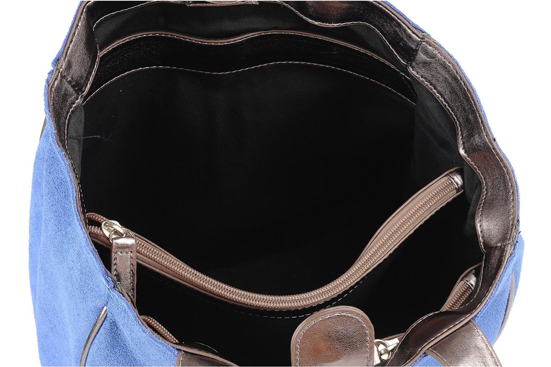 Handtaschen Georgia Rose Evening Cuir blau ansicht von hinten