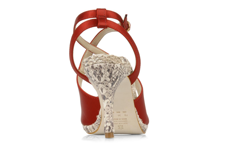 Sandales et nu-pieds Studio TMLS Galine Rouge vue droite