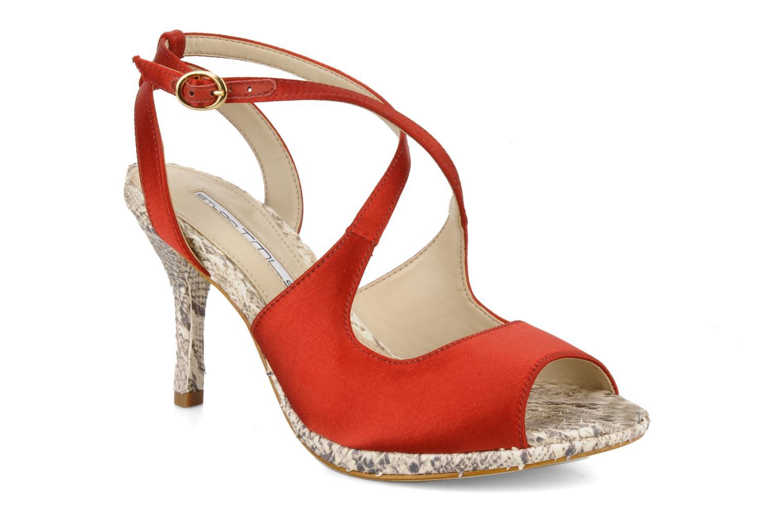 Sandaler Studio TMLS Galine Rød detaljeret billede af skoene