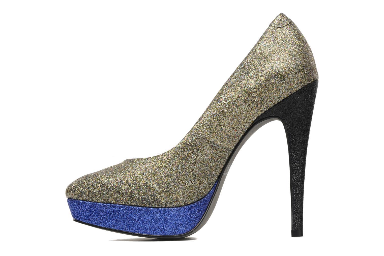High heels Studio TMLS Pistols Bronze and Gold front view