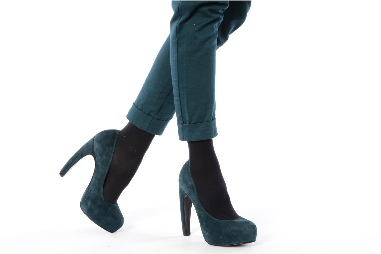 High heels Studio TMLS Stomp Blue view from underneath / model view