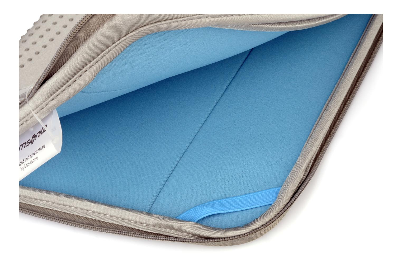 Kleine lederwaren Samsonite Aramon laptop sleeve 14,1 Grijs achterkant