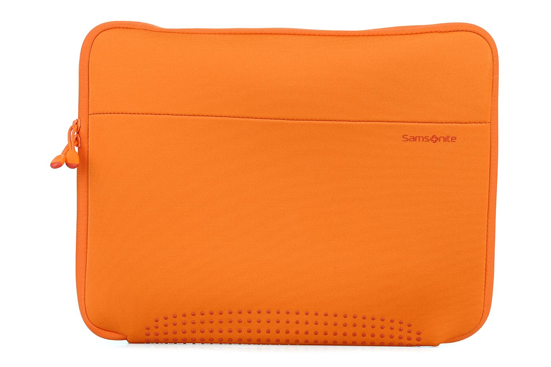 Petite Maroquinerie Samsonite Aramon laptop sleeve 15,6 Orange vue détail/paire