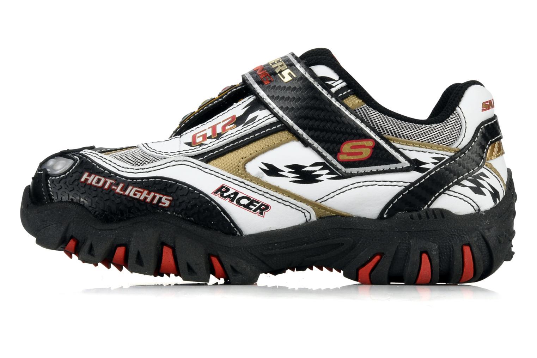 Sneakers Skechers Race car Bianco immagine frontale