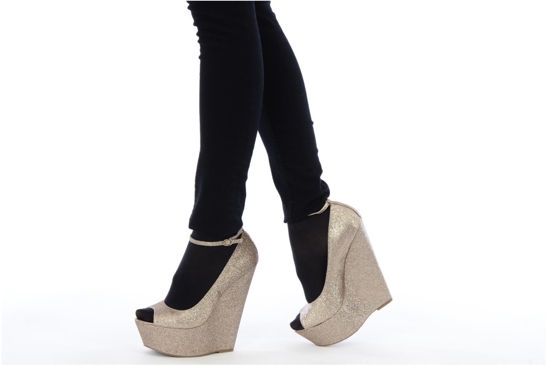 Zapatos de tacón Carvela Grass Oro y bronce vista de abajo
