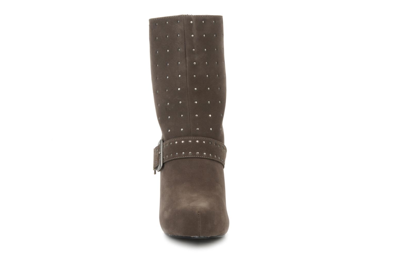 Stiefeletten & Boots Morgan Mael grau schuhe getragen