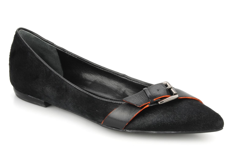 Ballerinaer Nine West Bernadette Sort detaljeret billede af skoene
