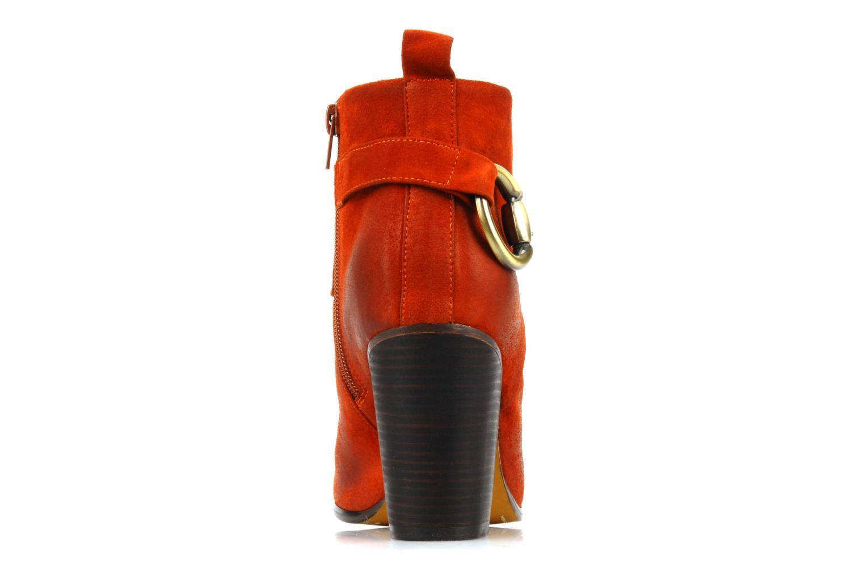 Boots en enkellaarsjes Jeffrey Campbell Cityslick Oranje rechts