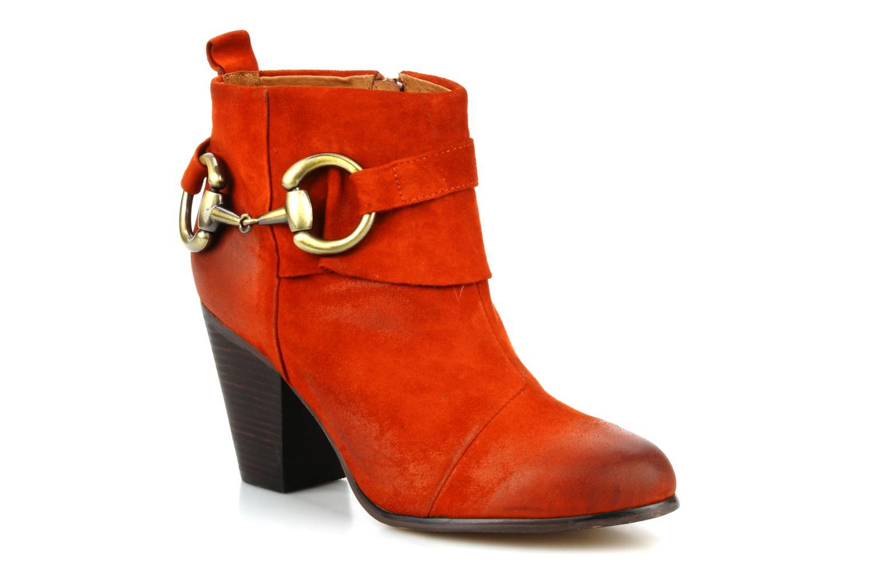Boots en enkellaarsjes Jeffrey Campbell Cityslick Oranje detail
