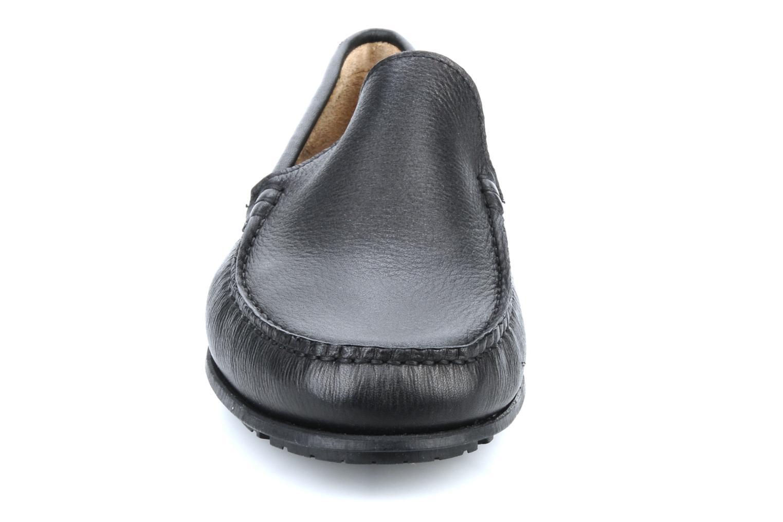 Mocassins TBS Stefan Noir vue portées chaussures