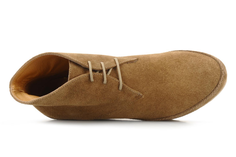 Chaussures à lacets Georgia Rose Viana Marron vue gauche