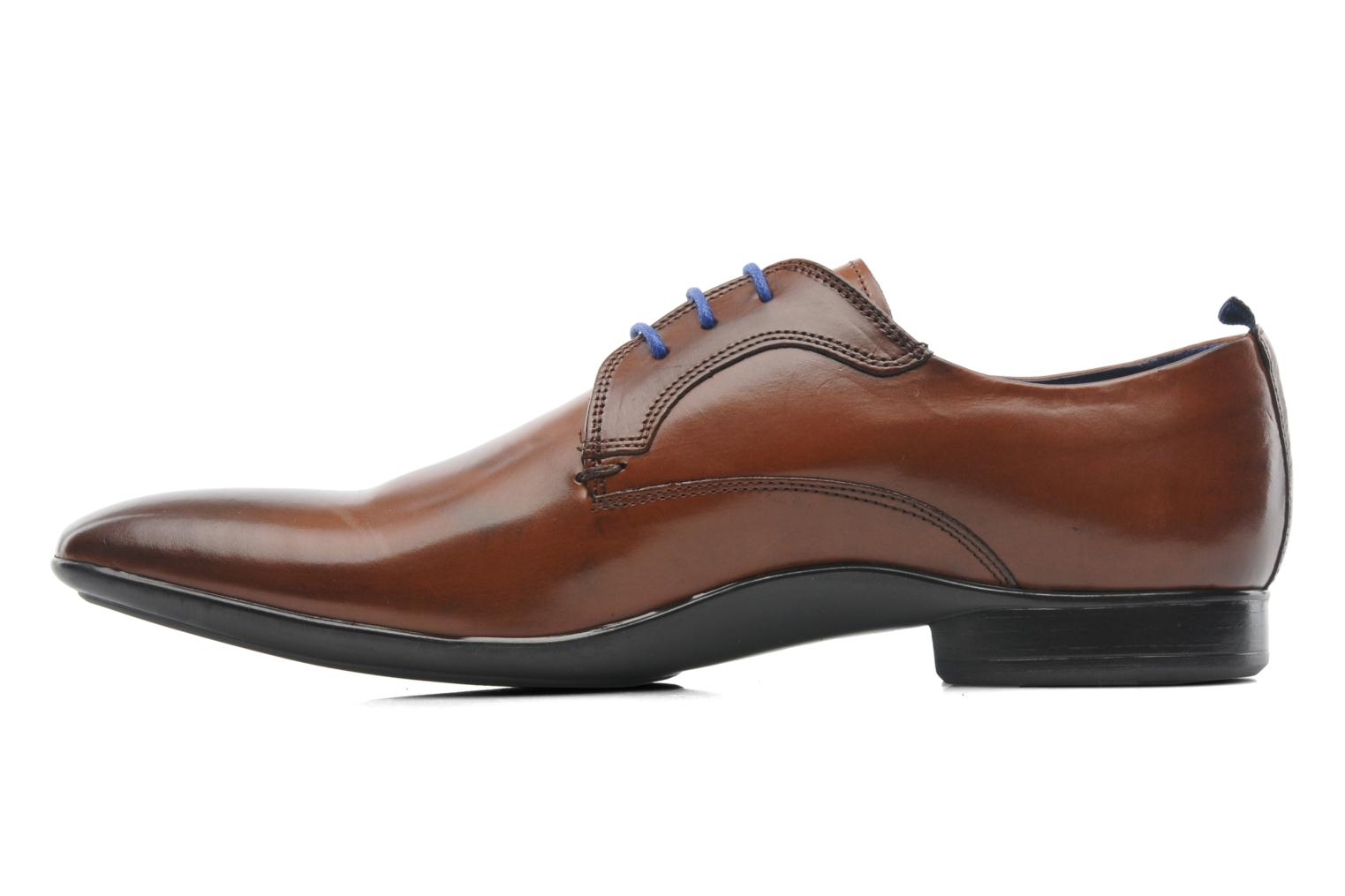 Lace-up shoes Azzaro Giant Brown front view