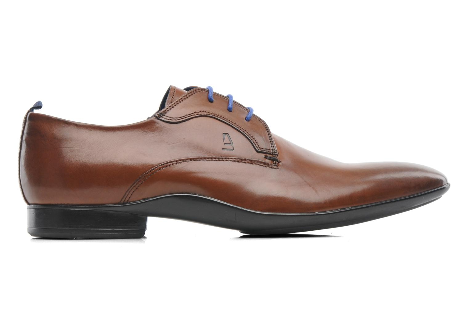 Lace-up shoes Azzaro Giant Brown back view