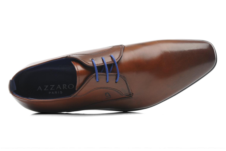 Chaussures à lacets Azzaro Giant Marron vue gauche