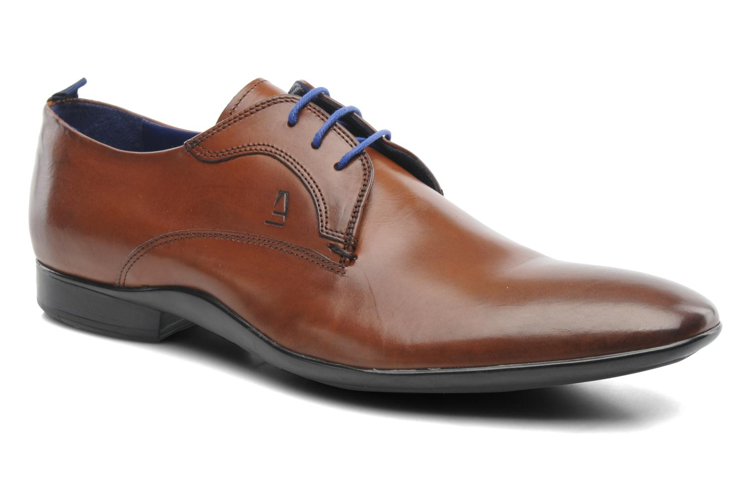 Lace-up shoes Azzaro Giant Brown detailed view/ Pair view