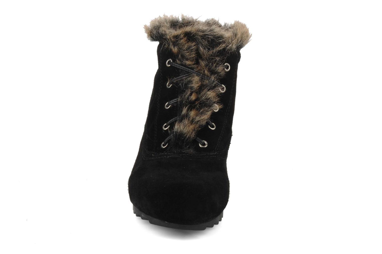 Chaussures à lacets Earthies Earthies seriph Noir vue portées chaussures