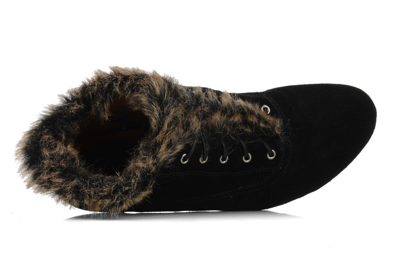 Chaussures à lacets Earthies Earthies seriph Noir vue gauche