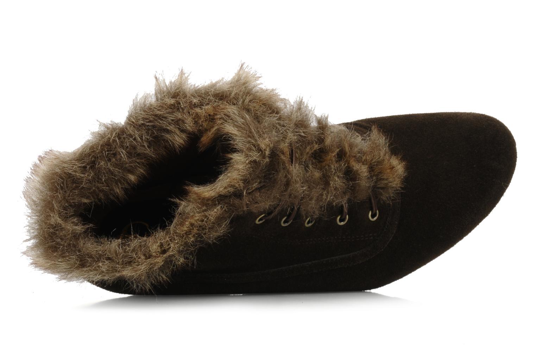 Chaussures à lacets Earthies Earthies seriph Marron vue gauche