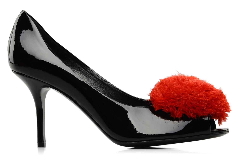 High heels Moschino Cheap & Chic Charonne Black back view