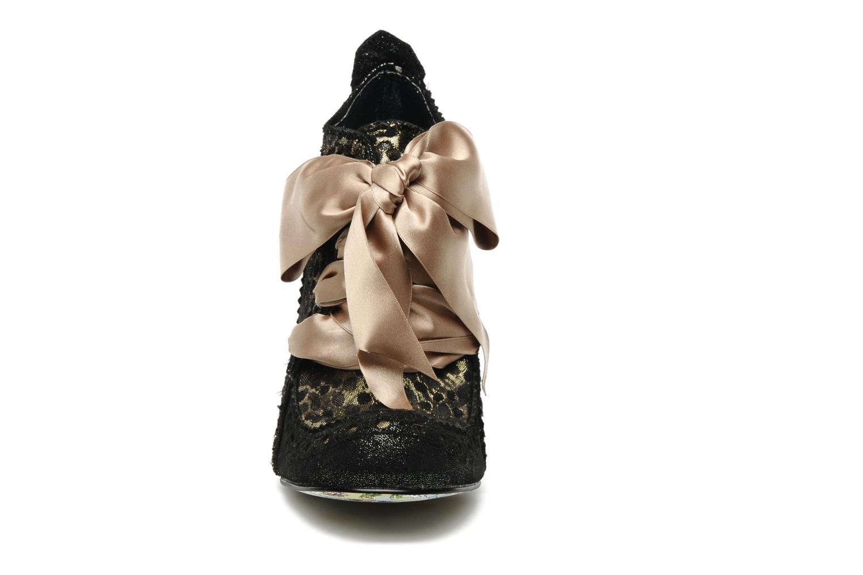 Chaussures à lacets Irregular Choice Abigails party Or et bronze vue portées chaussures
