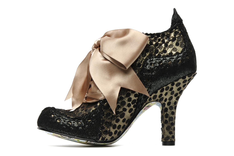 Chaussures à lacets Irregular Choice Abigails party Or et bronze vue face