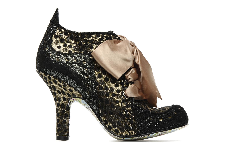 Chaussures à lacets Irregular Choice Abigails party Or et bronze vue derrière