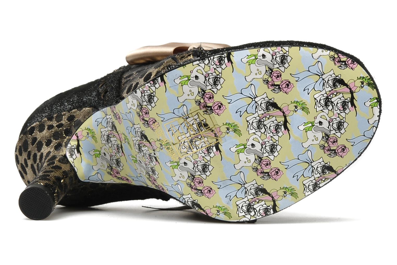 Chaussures à lacets Irregular Choice Abigails party Or et bronze vue haut
