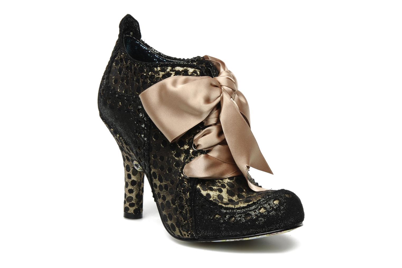 Chaussures à lacets Irregular Choice Abigails party Or et bronze vue détail/paire