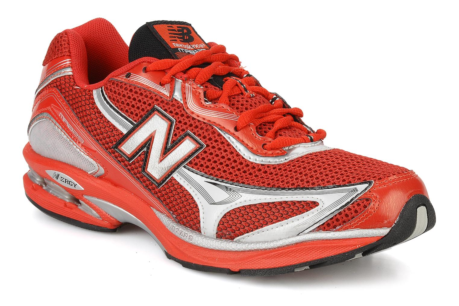 Sport shoes New Balance Mr829 Red detailed view/ Pair view