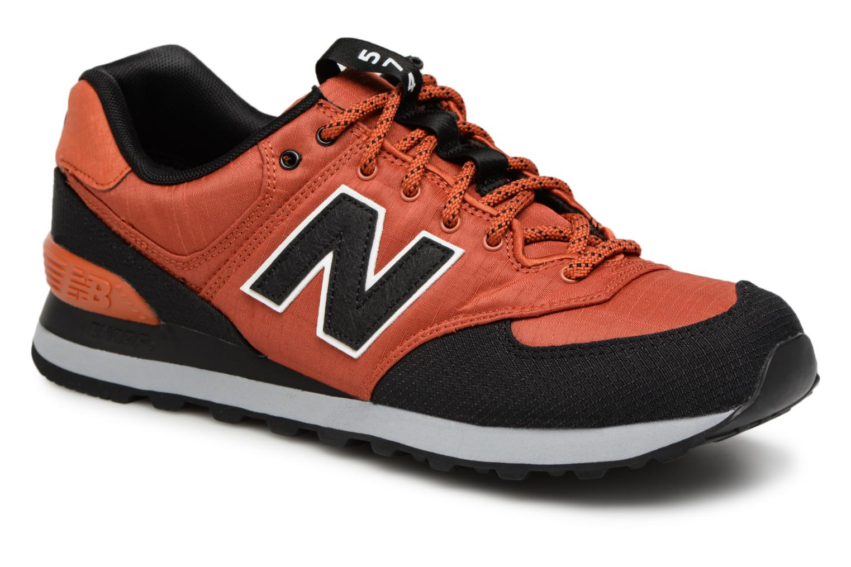 New Balance Ml574 (Orange) - Baskets chez Sarenza (330916)