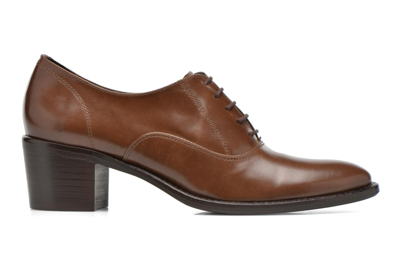 Zapatos con cordones Georgia Rose Daporo Marrón vistra trasera