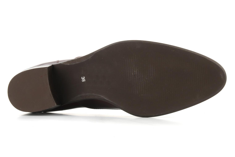 Chaussures à lacets Georgia Rose Daporo Bordeaux vue haut